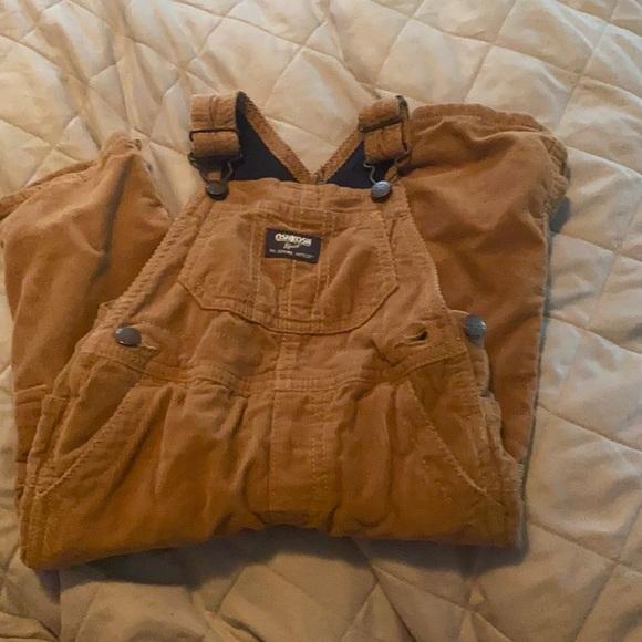 Never worn- Boys Corduroy overalls